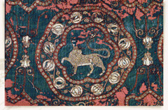 Lazarus cope 11thc Almeira (julianna.lees) Tags: ancient silk shroud textiles sassanian doubleheaded sassanid suaire