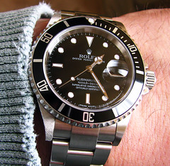Rolex Submariner 16610 (kv3x) Tags: alaska sub anchorage rolex submariner 16610 wristshot