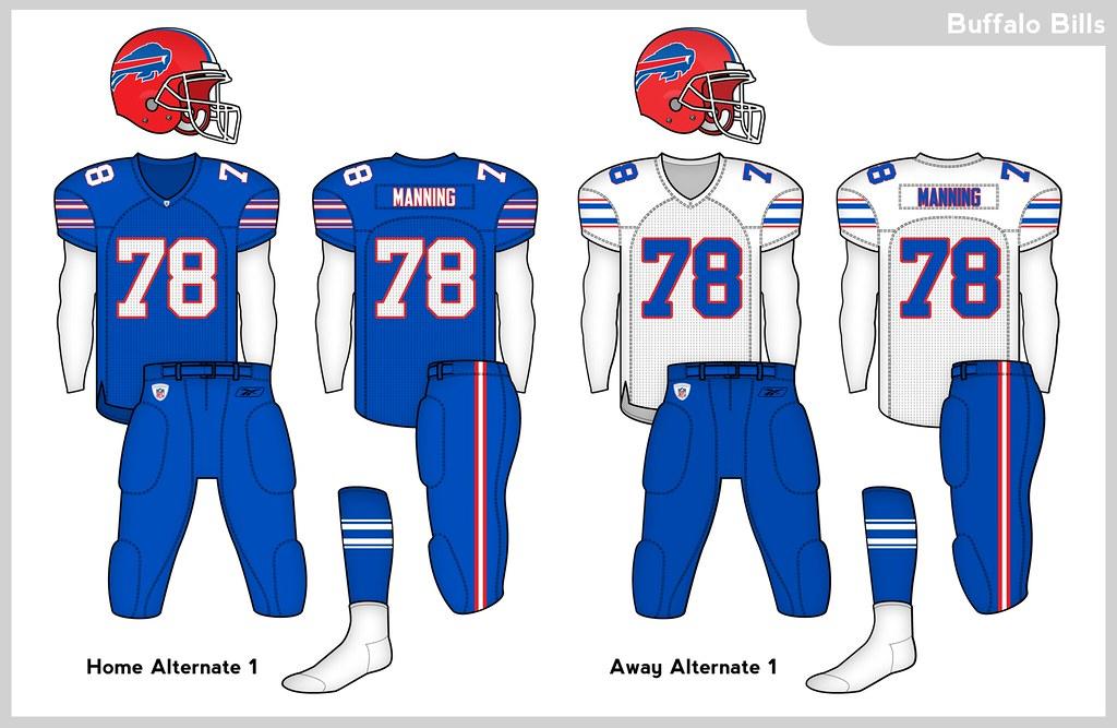 Buffalo Bills Uniform Concept - Concepts - Chris Creamer's Sports ...