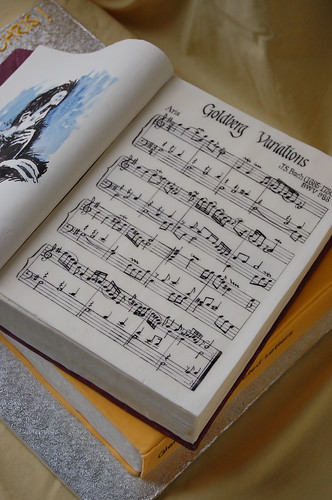 Glenn Gould Birthday Cake - sheet music