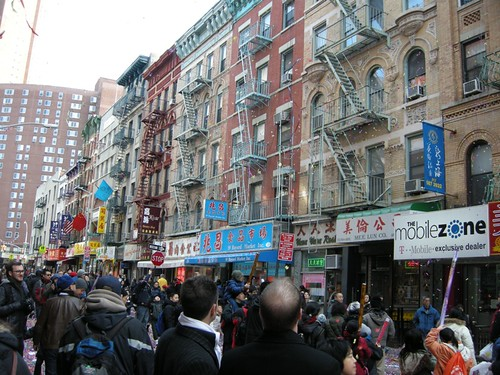 Happy New Year in Chinatown NYC