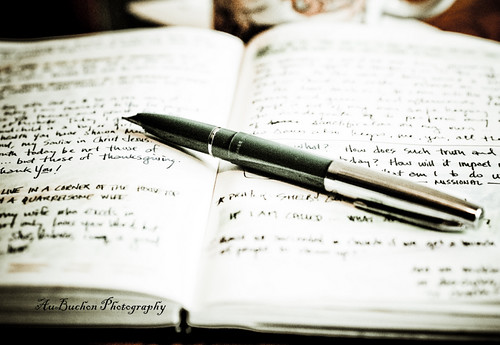 Pen & Journal by Bob AuBuchon, on Flickr