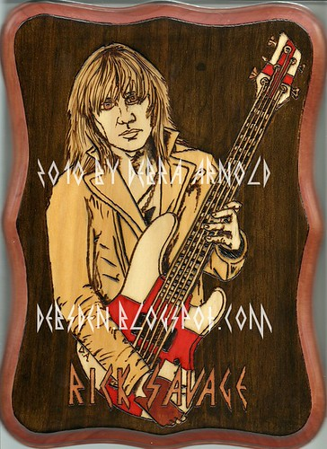 Rick Savage Pyrography