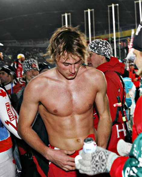 Petter Northug shirtless