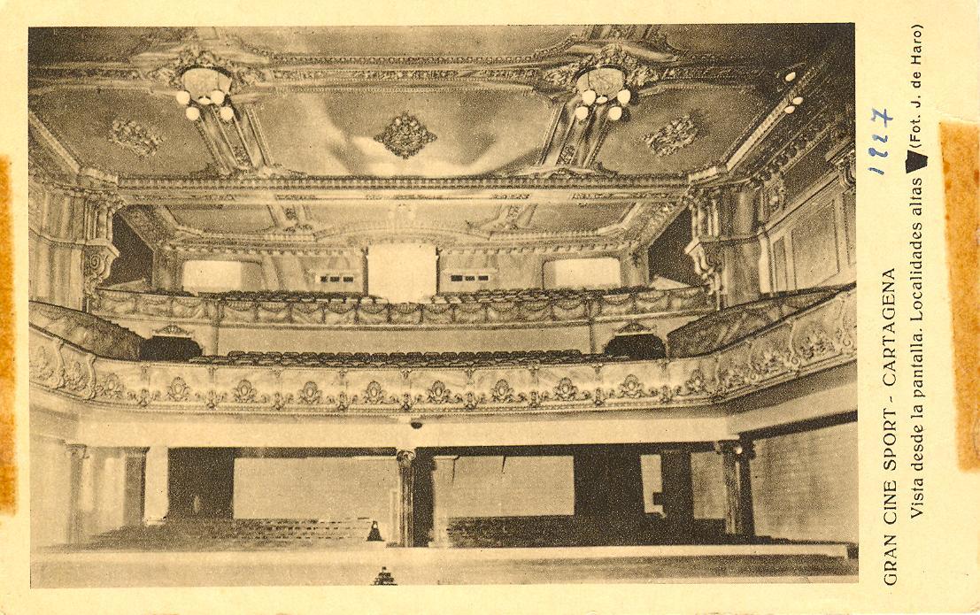 Postal Gran Salón Sport 2 1927