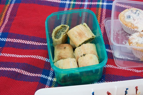 "gluten-free spinach and ""cheese"" sausage rolls"