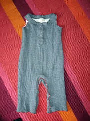baby overalls from an old shirt