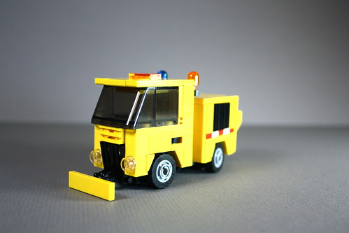 lego snow plow instructions