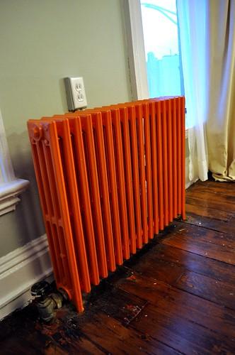 orange radiator