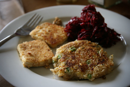 Bubble, Squeak, Beets and Tofu