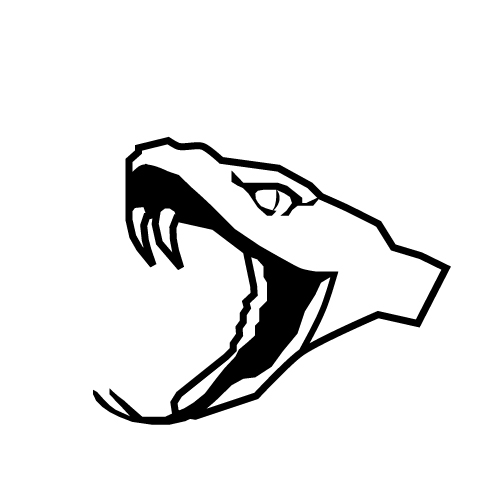 Rattlesnake head logo - photo#6