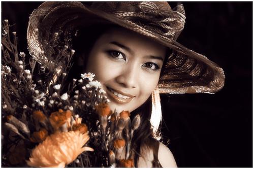 Nurul's mesmerizing smile