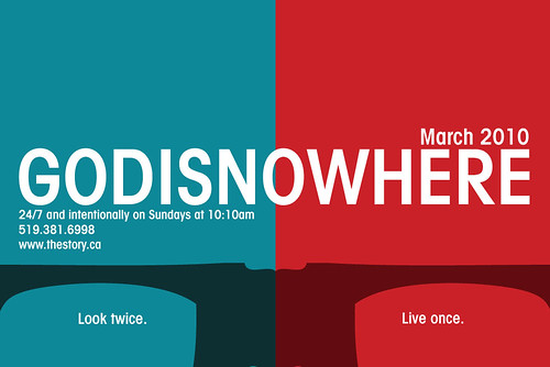 GODISNOWHERE - theStory - March 2010