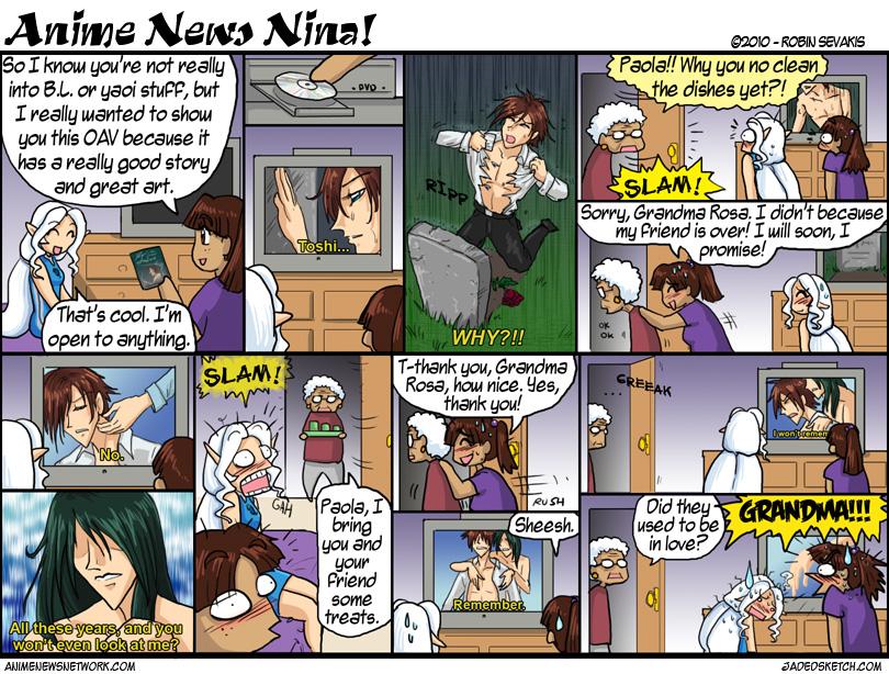 Смотреть аниме комиксы