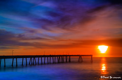 Extend the reach to infinity (davidyuweb) Tags: sunset mist color pier dock 10 infinity stop filter lee nd cw dreamy reach pacifica extend