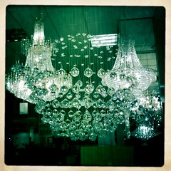 Saturn Chandelier (Hipstamatic Contest Entry)