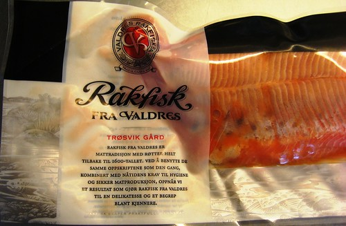Rakfisk traditional fish delicacy in Norway #3