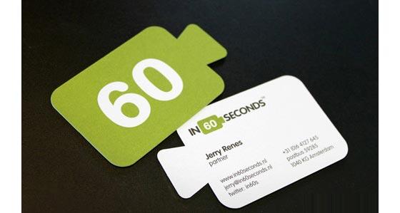tarjetas de presentación originales