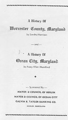 History of Worcester County and Ocean City (kschwarz20) Tags: history md maryland books oceancity kts mumford ocmd