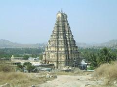 605. Hampi(23) Virupaksha Temple (profmpc) Tags: architecture ancient stonecarving gateway hampi renovated gopuram vijayangara virupakhatemple krishnadevarayar
