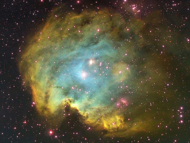 NGC2174 Hubble Palette