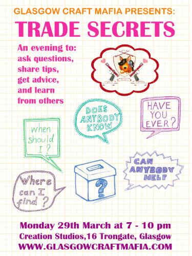 Trade Secrets flyer