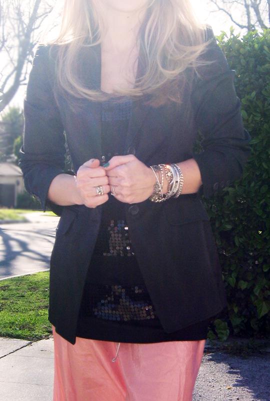 long skirt black blazer-8 pp