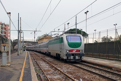 Trenitalia E402.177 (Transport Pictures) Tags: railroad italy train rail railway locomotive treno trenitalia ferrovia locomotiva e402b eurostarcity freciabianca