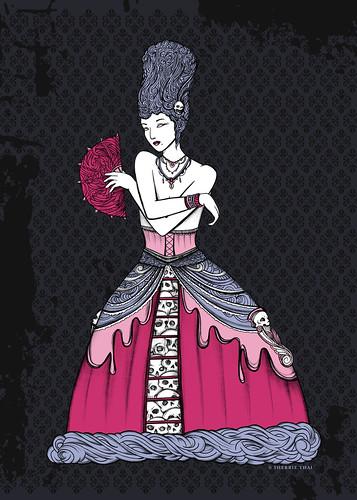 Gothic Marie Antoinette