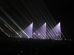 LED Spots (acidpix) Tags: tour jean leipzig arena michel jarre