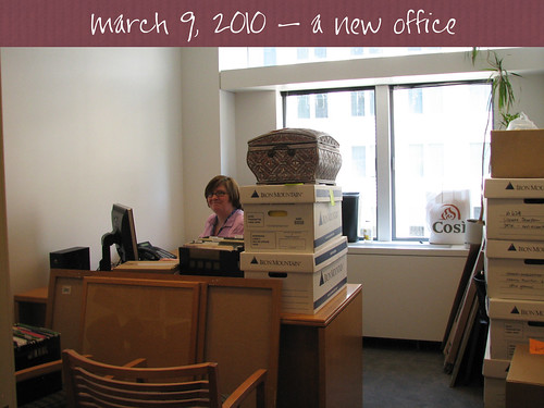 a new office