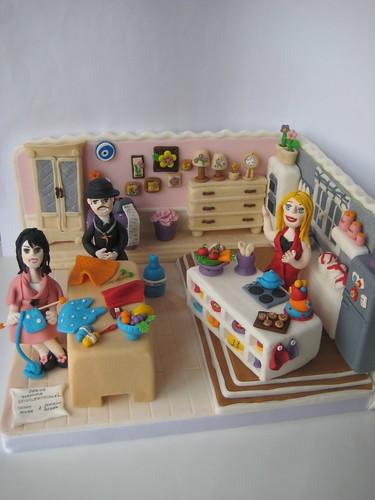 Derya BAYKAL stüdyo maket pasta