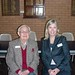 Councillor Nicole Johnston with Norm Jolly