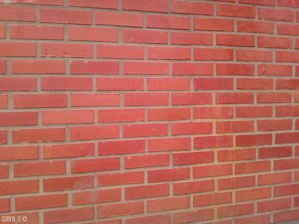 The incredibly inspiring photo of a red brick wall