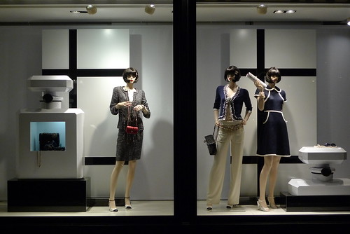 Vitrines Chanel - mars 2010