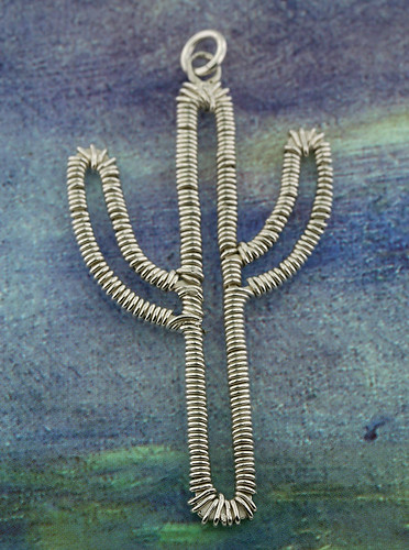 Sterling Silver Cactus