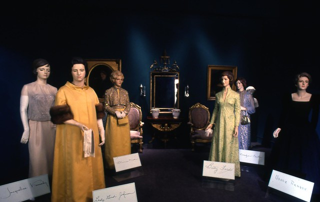 The First Ladies Collection exhibit 1986-1989 by national museum of american history