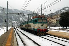 Trenitalia E655.408 con E656.562 (Maurizio Boi) Tags: railroad italy train rail railway locomotive treno trenitalia ferrovia locomotiva e656 e655