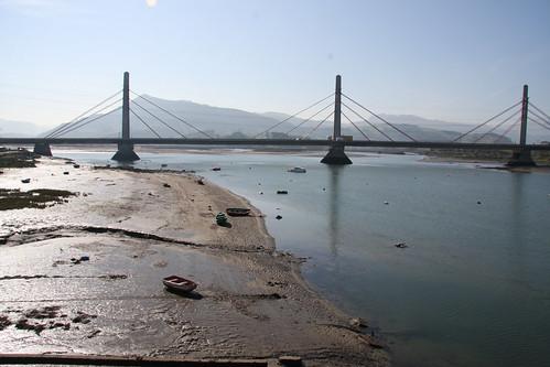 Ria Asón at low tide