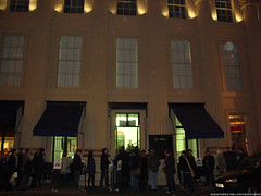 Jameson Cult Film Club Presents Moon - Crowd outside the Royal Institution of Great Britain