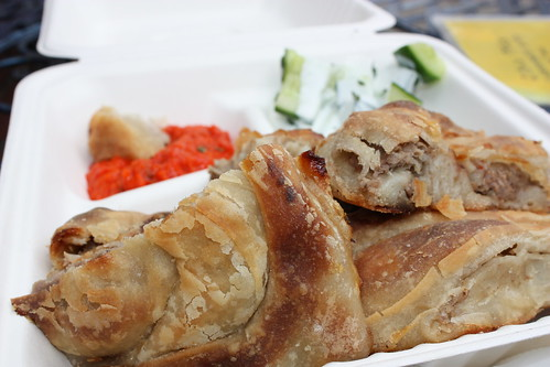 Mmmm ... that burek was so good, I wish I was eating it right now.