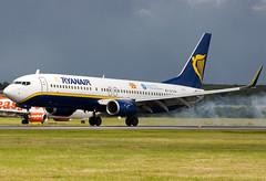 EI-CSW - 29935 - Ryanair - Boeing 737-8AS - Luton - 070625 - Steven Gray - CRW_2281