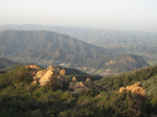 top of Corral Canyon