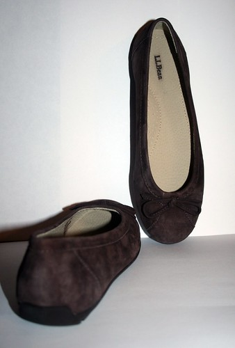 brown suede flats llbean
