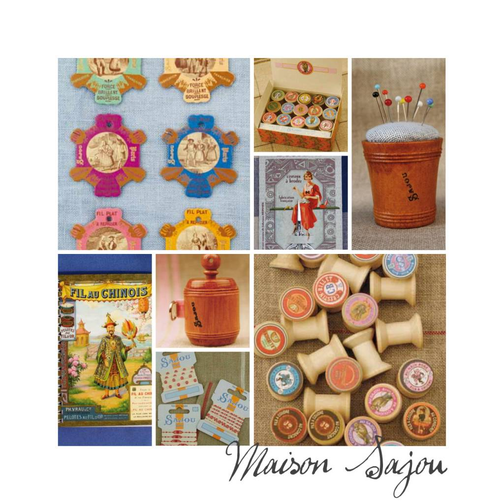 "Magical haberdashery by ""Maison Sajou"""