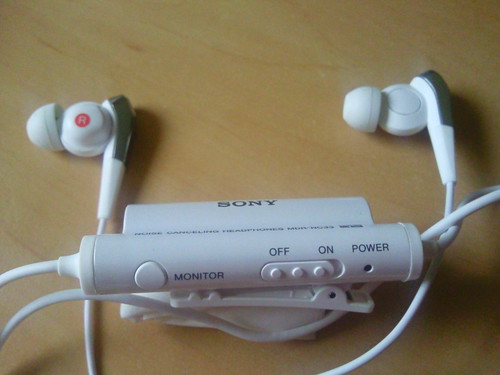 Review of Sony in ear noise cancelling headphones