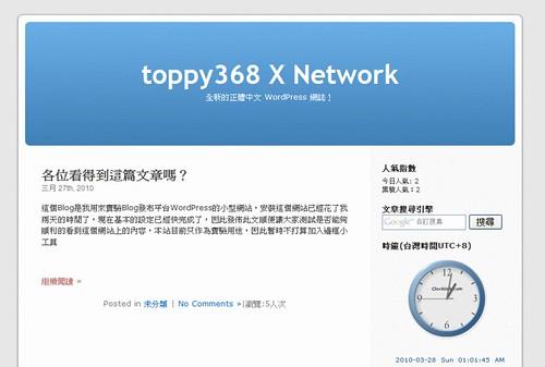toppy368 in WordPress