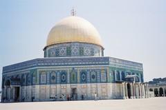 エルサレム旧市街 岩のドーム(イスラエル)