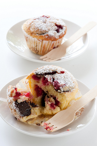 raspberry-chocolate-muffins