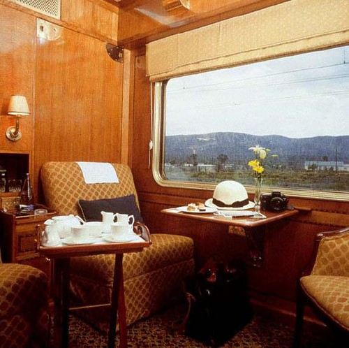 Blue Train (South Africa) - Cabin interior